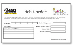 Download The Debit Order Form Here. Awesome Ideas